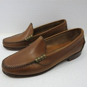 Cole Haan Oil Tanned Leather Moccasin Loafers 5.5